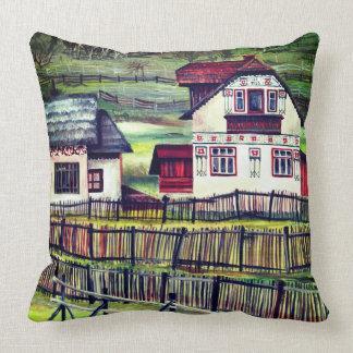 Transylvania, Romania Cushion