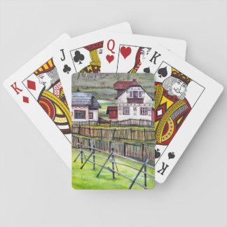 Transylvania, Romania Playing Cards