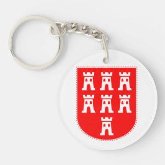 Transylvanian Saxons Crest Key Ring
