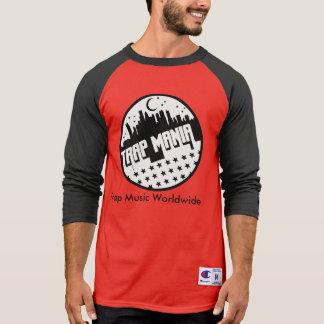 Trap Mania Red & Black T-Shirt