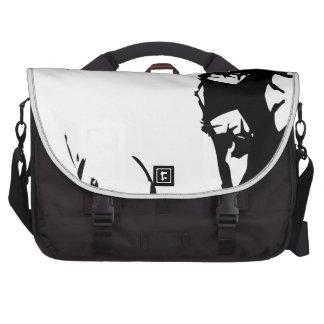 trap rapper laptop messenger bag