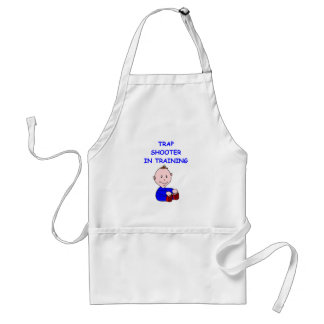 trap shooting baby aprons