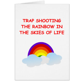 trap shooting cards