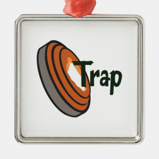 TRAP SHOOTING CHRISTMAS ORNAMENT