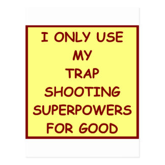 trap shooting post cards