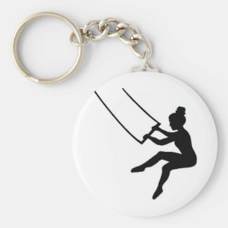 trapeze artist key ring