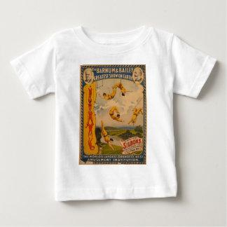 Trapeze artists Barnum & Bailey 1896 Baby T-Shirt