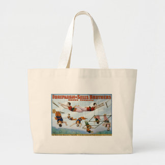 Trapeze Artists / Forepaugh & Selle Brothers Large Tote Bag