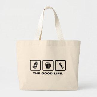 Trapeze Canvas Bags