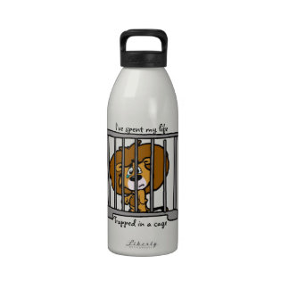 Trapped in Cage Water Bottle