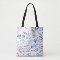 Trapped in Doodle-ville Tote Bag