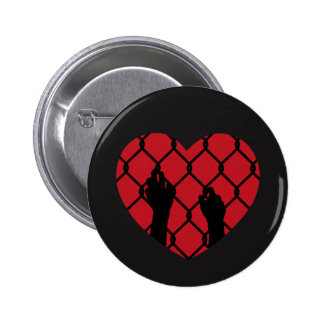 Trapped in Love 6 Cm Round Badge