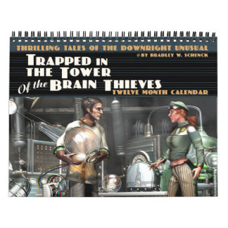 Trapped in the Tower of the Brain Thieves Calendar