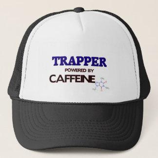 Trapper Powered by caffeine Trucker Hat