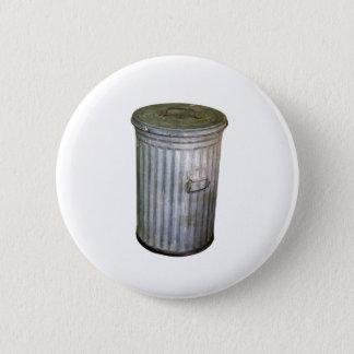 trash bin 6 cm round badge