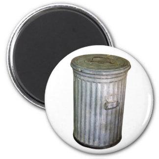 trash bin 6 cm round magnet