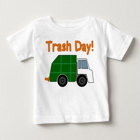 TRASH DAY! - I love garbage trucks!! Baby