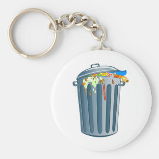 Trash Key Ring