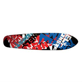 """Trash"" Lonely Monster Logo Skateboard Deck"