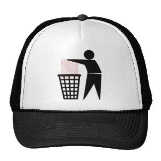 Trash Man Symbol (Add Photo) Cap