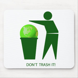 Trash Mouse Pad