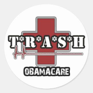 Trash Obamacare sticker