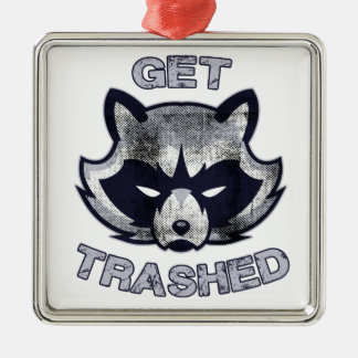 Trash Panda Party People Christmas Ornament
