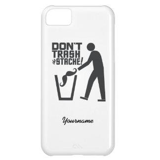 Trash Stache custom cases