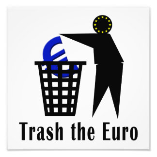 Trash the Euro Photo Art
