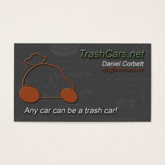 TrashCars.net Business Cards