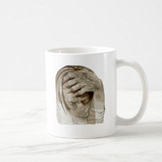 Trauer grief mourning sorrow basic white mug