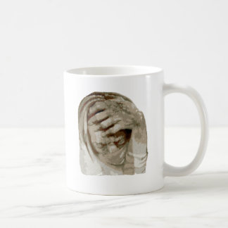 Trauer grief mourning sorrow coffee mug
