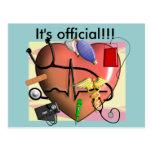 Trauma Nurse Art Gifts Post Card