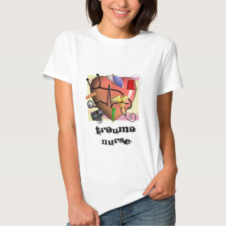 Trauma Nurse Art Gifts Tee Shirt