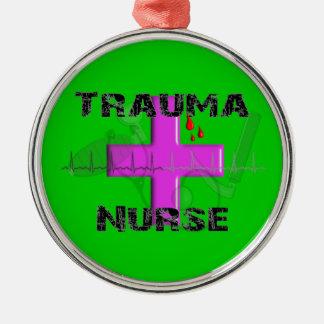 Trauma Nurse Christmas Tree Ornament