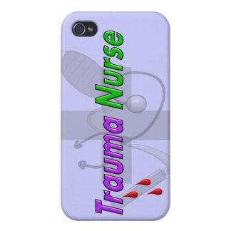 Trauma Nurse Gifts iPhone 4 Case