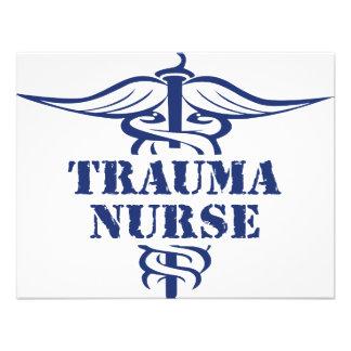 trauma nurse custom invitations