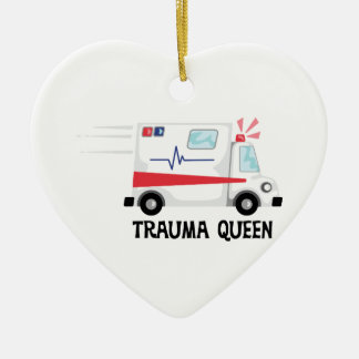 Trauma Queen Christmas Ornament