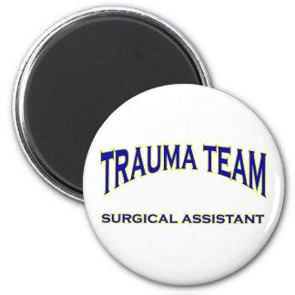 Trauma Surgical Assistant Refrigerator Magnets