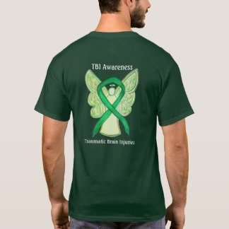 Traumatic Brain Injuries Awareness Ribbon Shirts