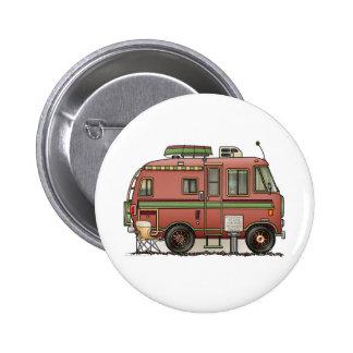 Travco Motor Home Camper RV 6 Cm Round Badge