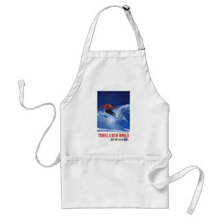 Travel A New World See The USA Aprons