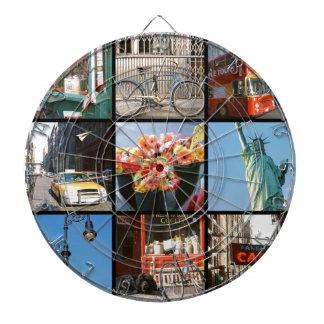 Travel abroad to NewYork Dartboard With Darts