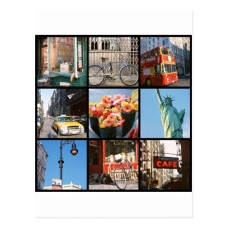 Travel abroad to NewYork Postcard