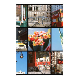 Travel abroad to NewYork Personalized Stationery