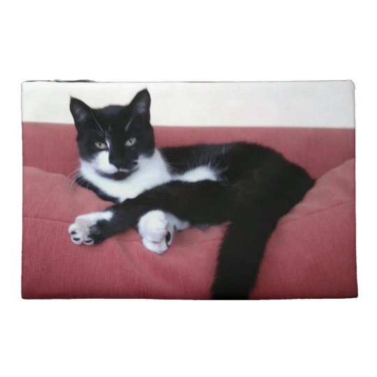 Travel Accessory Bag - Queen Cat Photo