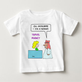 travel agency anywhere nomad baby T-Shirt