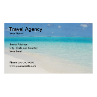 Travel Agency Business Card Business Card Templates