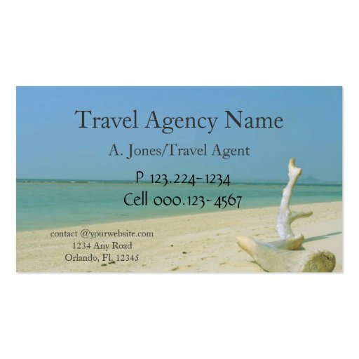 premium travel business card templates