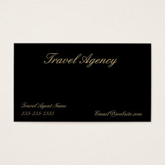 Travel Agency Business card.